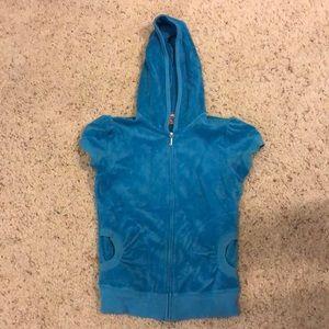 Short sleeve Juice zip up